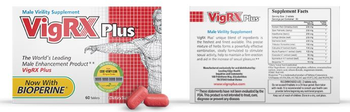 vigrx plus review - supplement facts