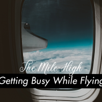 The Mile-High Club is a Real Thing, How To Get Busy While Flying